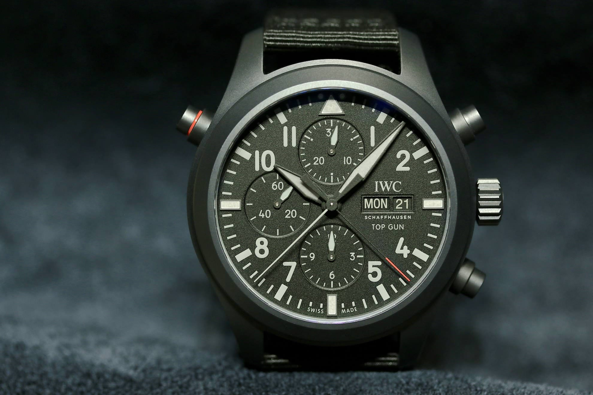 IWC_Pilots_Watch_Double_Chronograph_Top_Gun_Ceratanium_1
