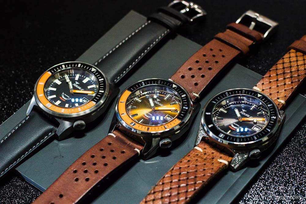 Squale Squalematic 60ATM - Baselworld 2017