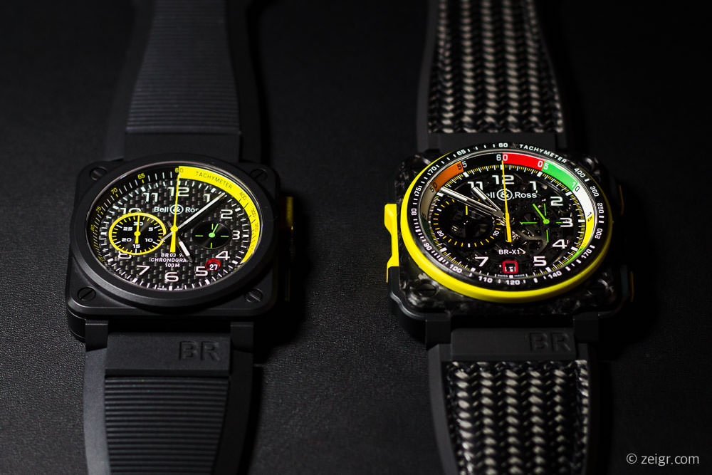 Bell & Ross - BR0394 & BR X1 RS 17 - Baselworld 2017