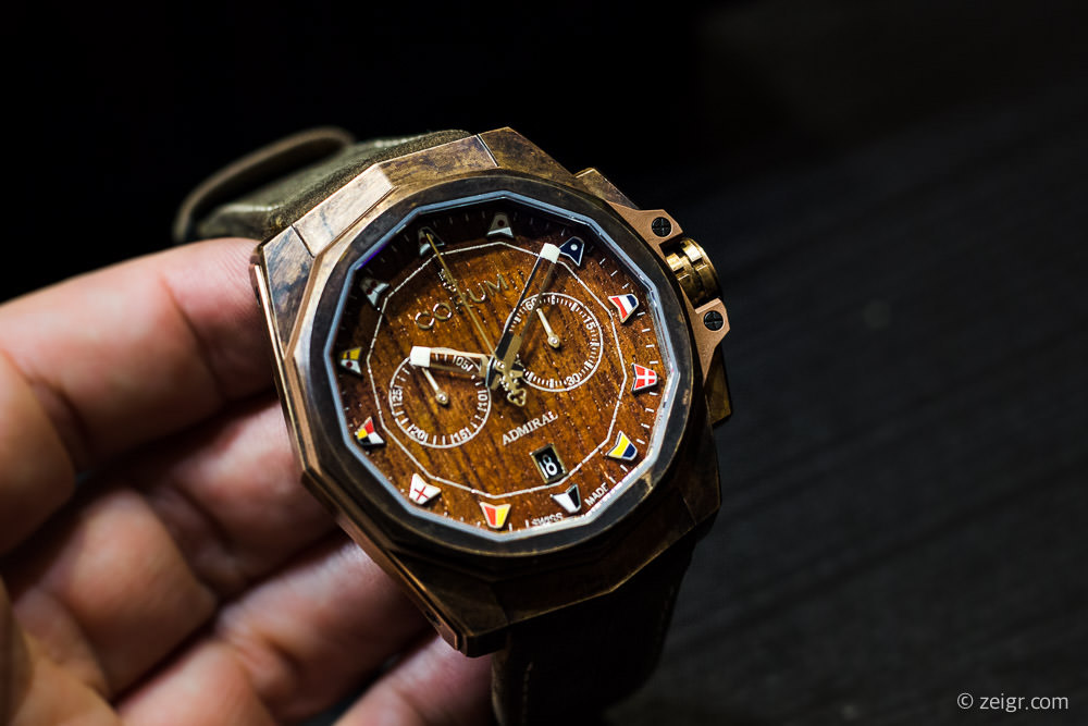 Corum Admiral's Cup Bronze - Baselworld 2017