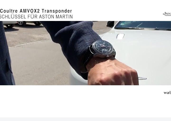 Unterwegs mit der AMVOX2 Transponder und Aston Martin