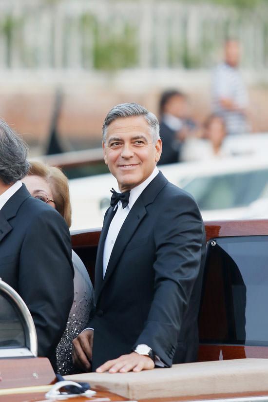 """Clooney sagt """"Ja"""" mit Omega"""