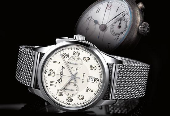 Neuer Breitling Transocean Chronograph 1915