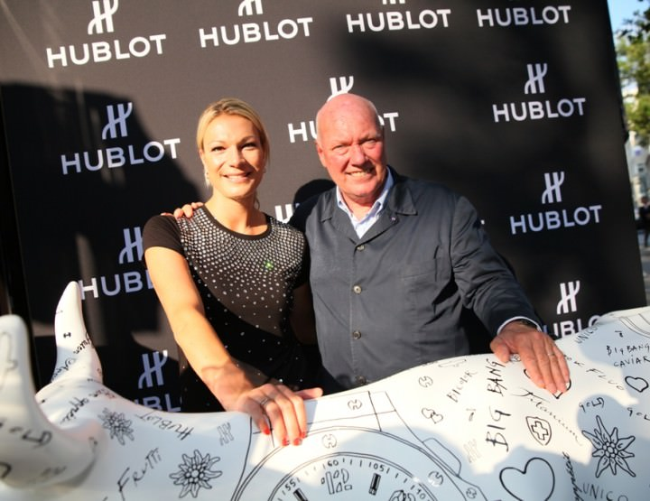 Hublot eröffnet Boutique in Frankfurt