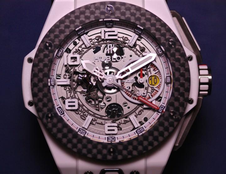 Hublot Big Bang Ferrari White Ceramic Carbon