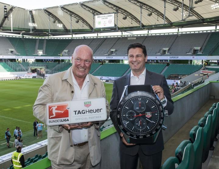 TAG Heuer wird offizieller Zeitmesser der Bundesliga