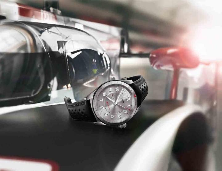 Oris bringt die neue Audi Sport GMT an den Start