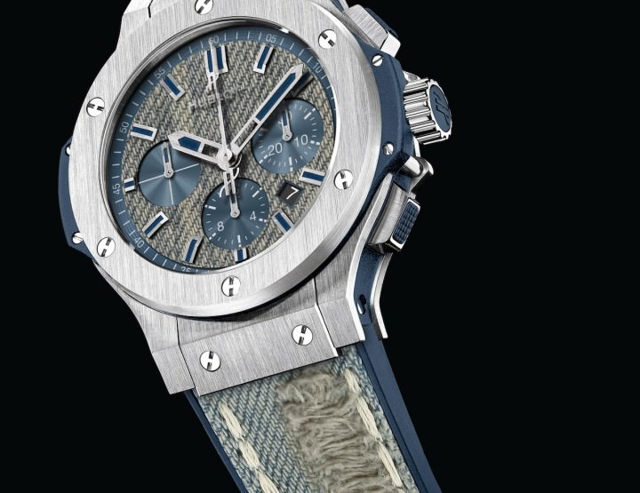 Cool in Denim: Hublot Big Bang Jeans Vintage