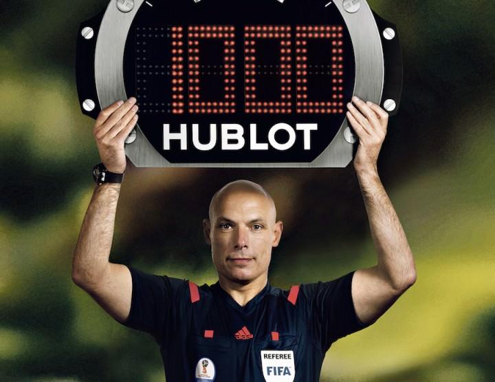 Hublot enthüllt Countdown-Uhr zur FIFA WM 2018