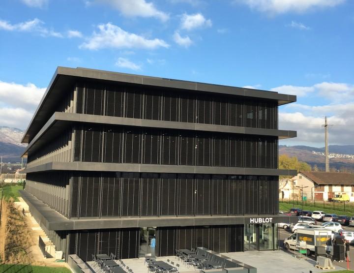 Hublot eröffnet zweite Manufaktur in Nyon