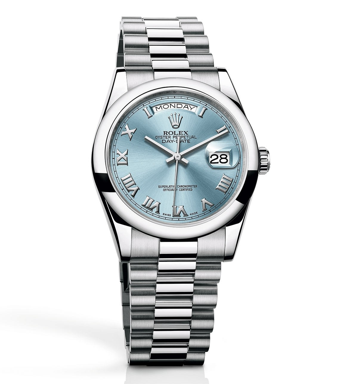 Rolex Oyster Perpetual Day-Date 36 in Platin