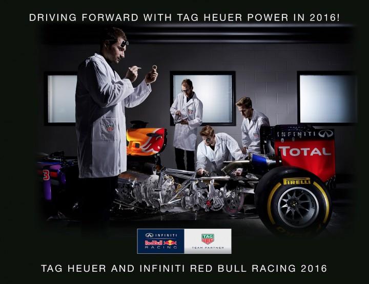 TAG Heuer wird Partner von Red Bull Racing
