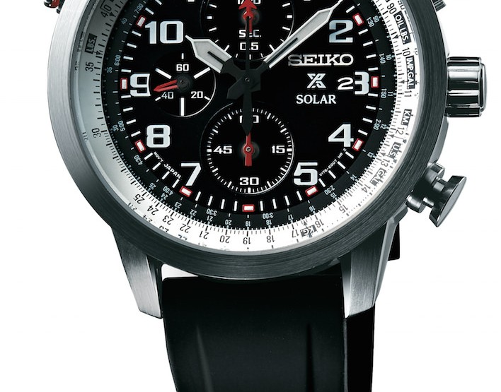 Neue Seiko Prospex Aviation Solar Chronographen