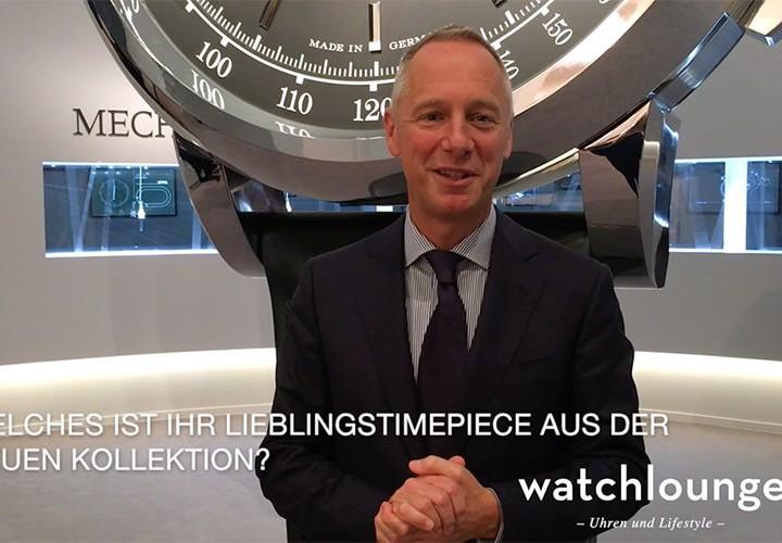 SIHH Exklusiv-Interview: Wilhelm Schmid, A. Lange & Söhne