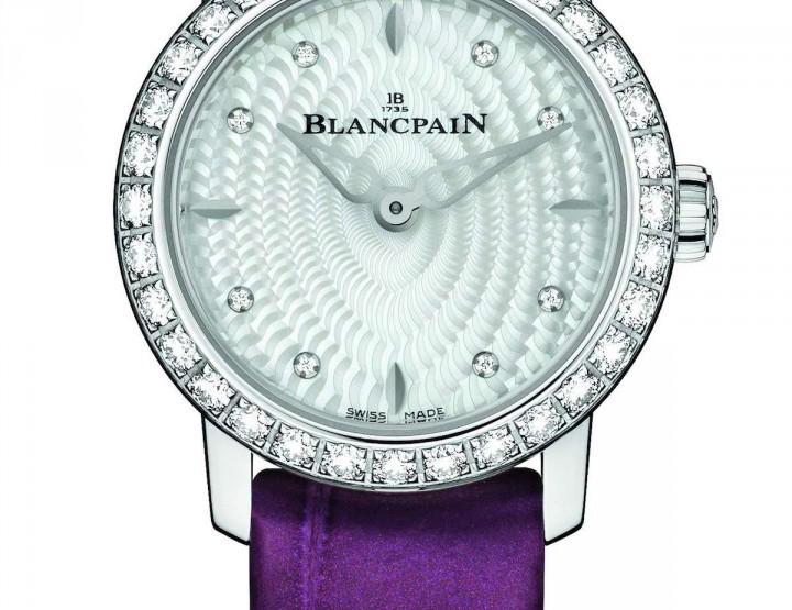 Blancpain Ladybird: Diamanten zum Geburtstag