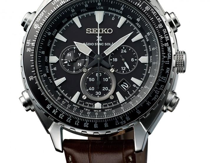 Seiko mit neuen Funk- & Solar-Fliegeruhren