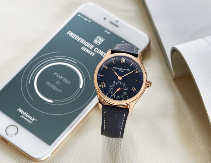 Frédérique Constant mit neuer Horological Smartwatch
