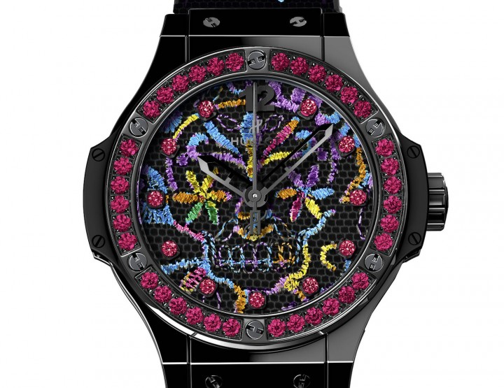 Crazy: Hublot Big Bang Broderie Sugar Skull