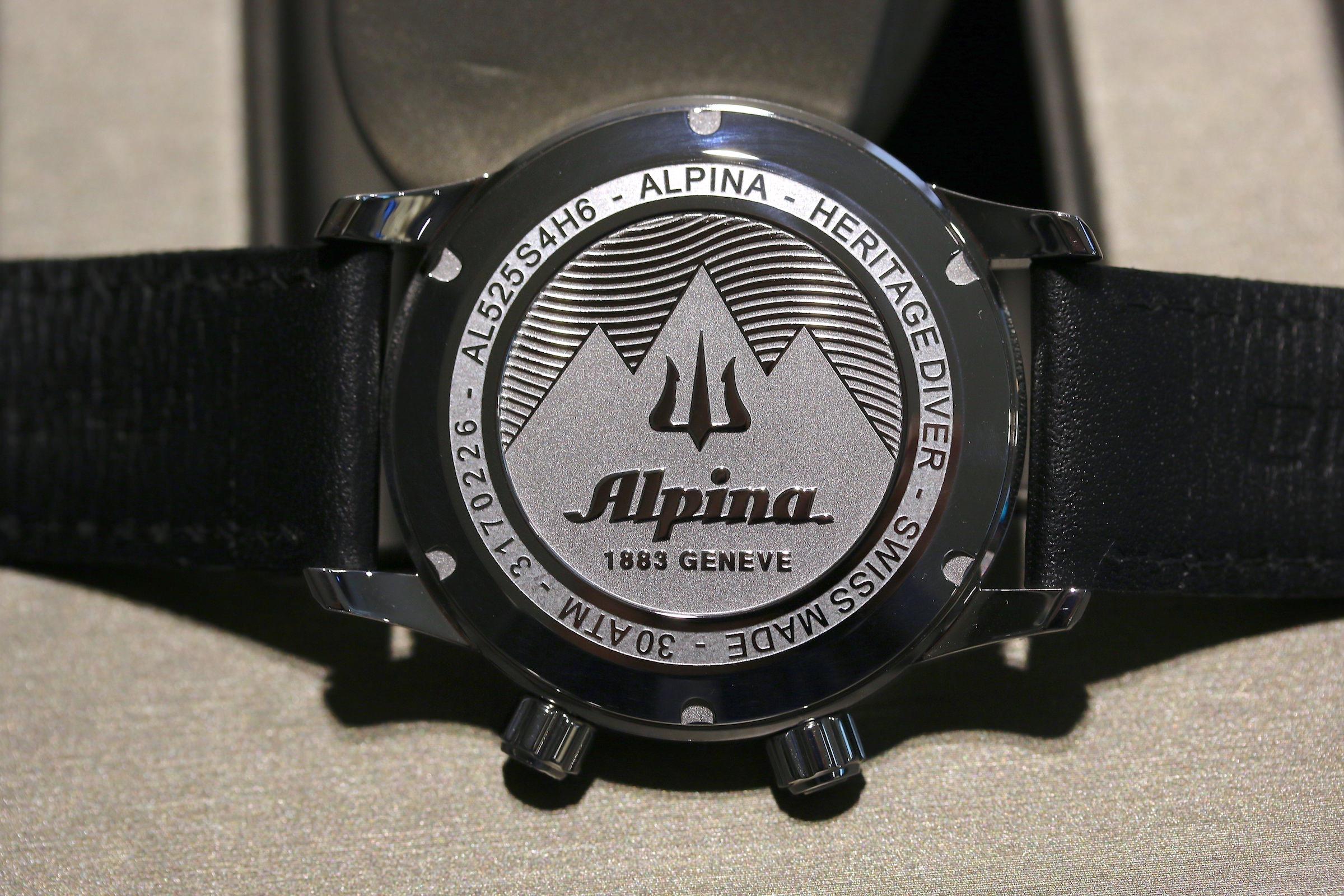 Die Alpina Seastrong Diver Heritage