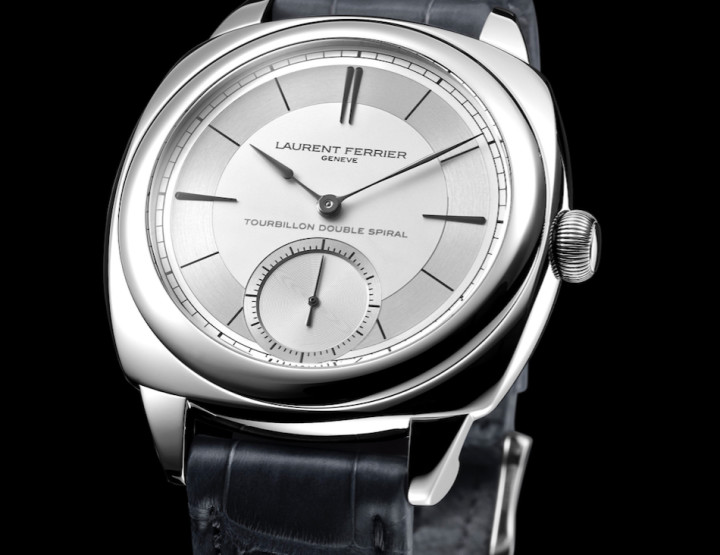 Das Galet Classic Square Tourbillon von Laurent Ferrier