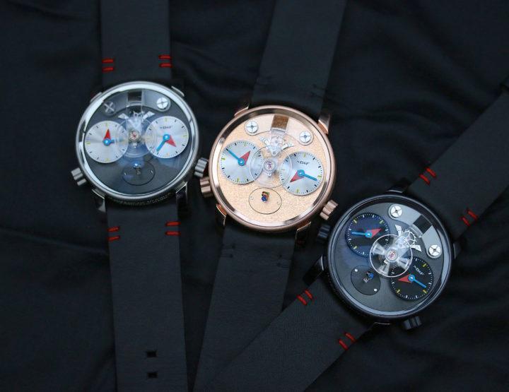 Die drei neuen MB&F LM1 Silberstein