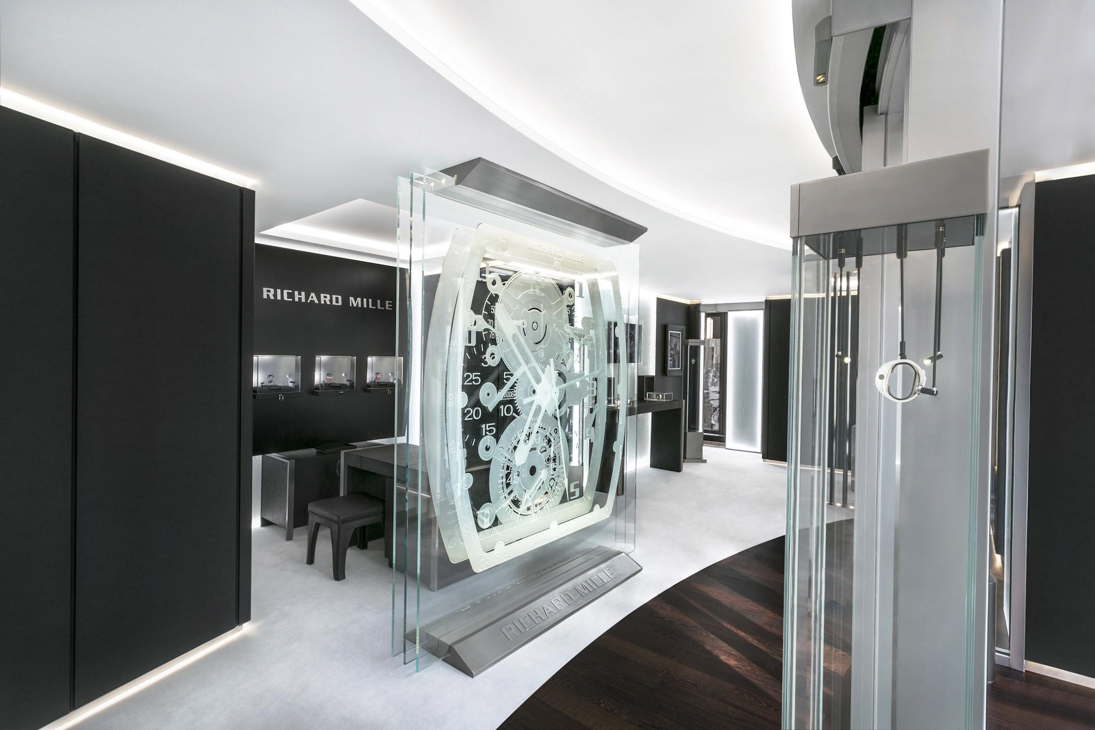 Die Richard Mille-Boutique in München