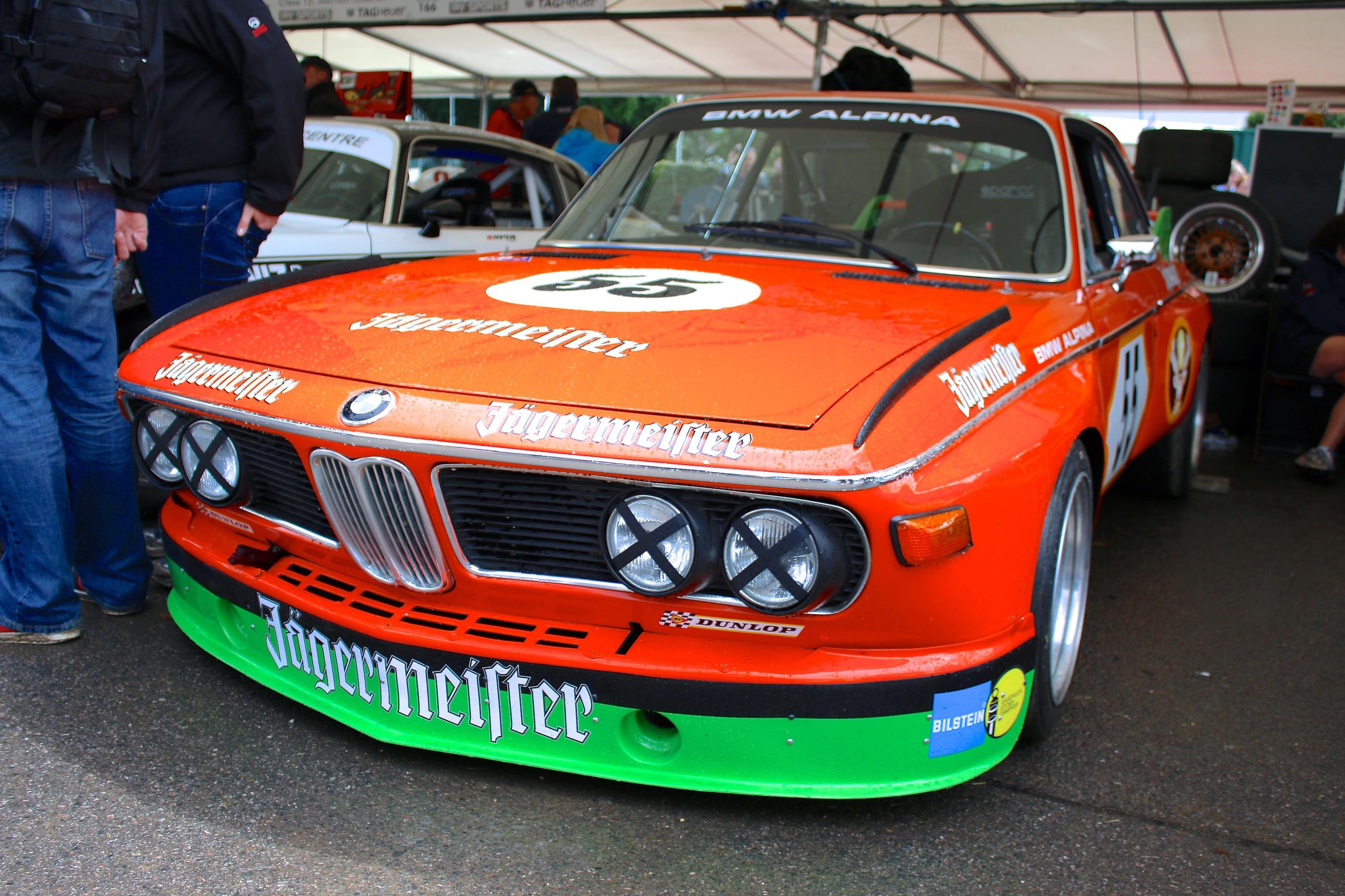 "Ein BMW 3.0 CSL aka ""Batmobil"" aus 1975"