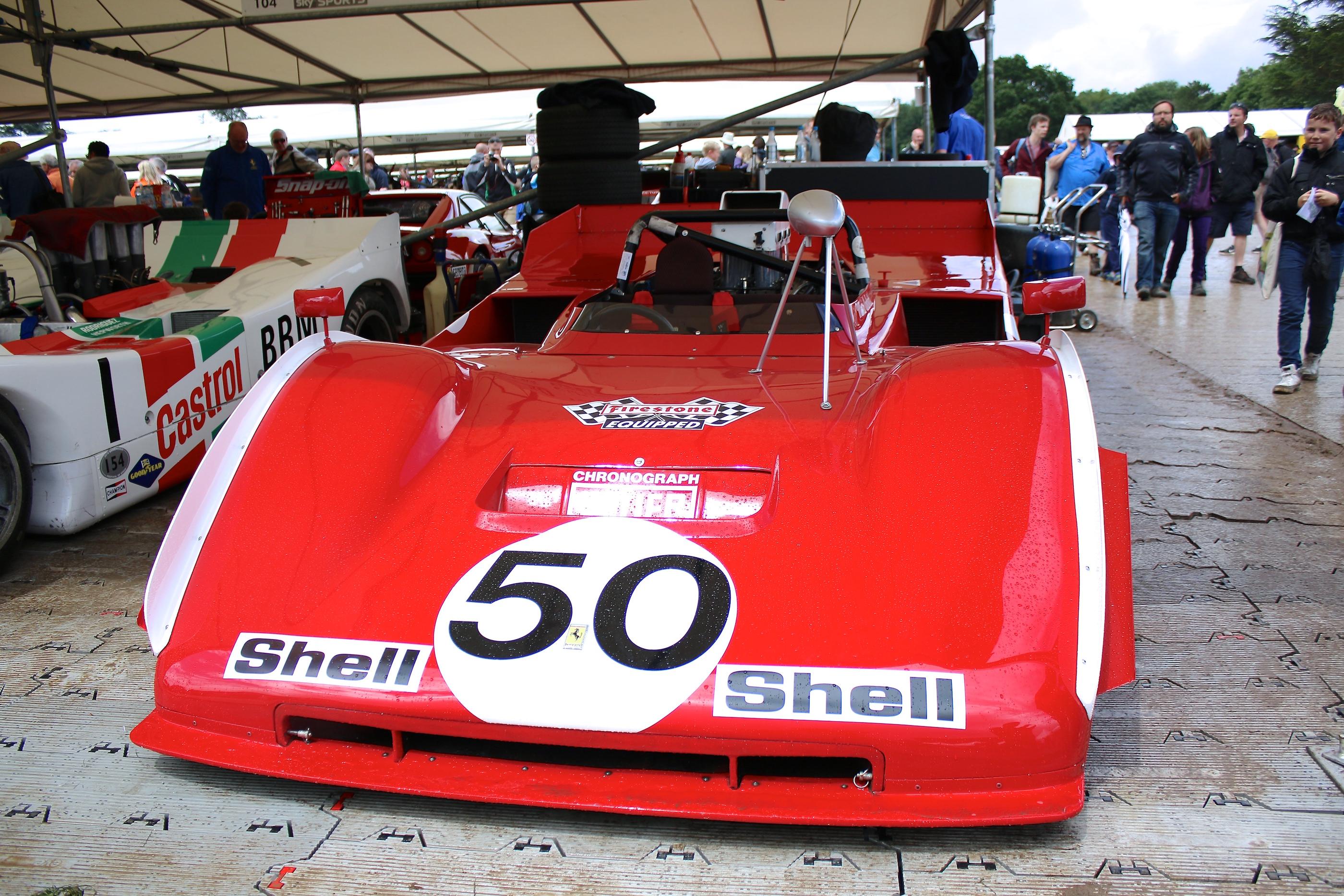 Der Ferrari 712 aus 1971 mit V12 Motor und 671 PS