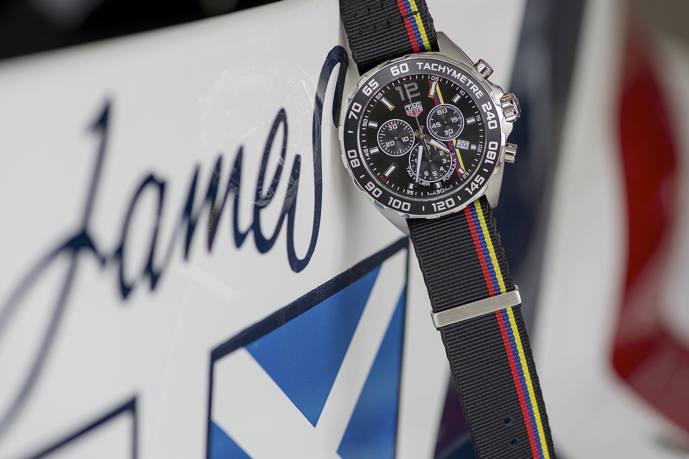 TAG Heuer Formula 1 James Hunt Limited Edition
