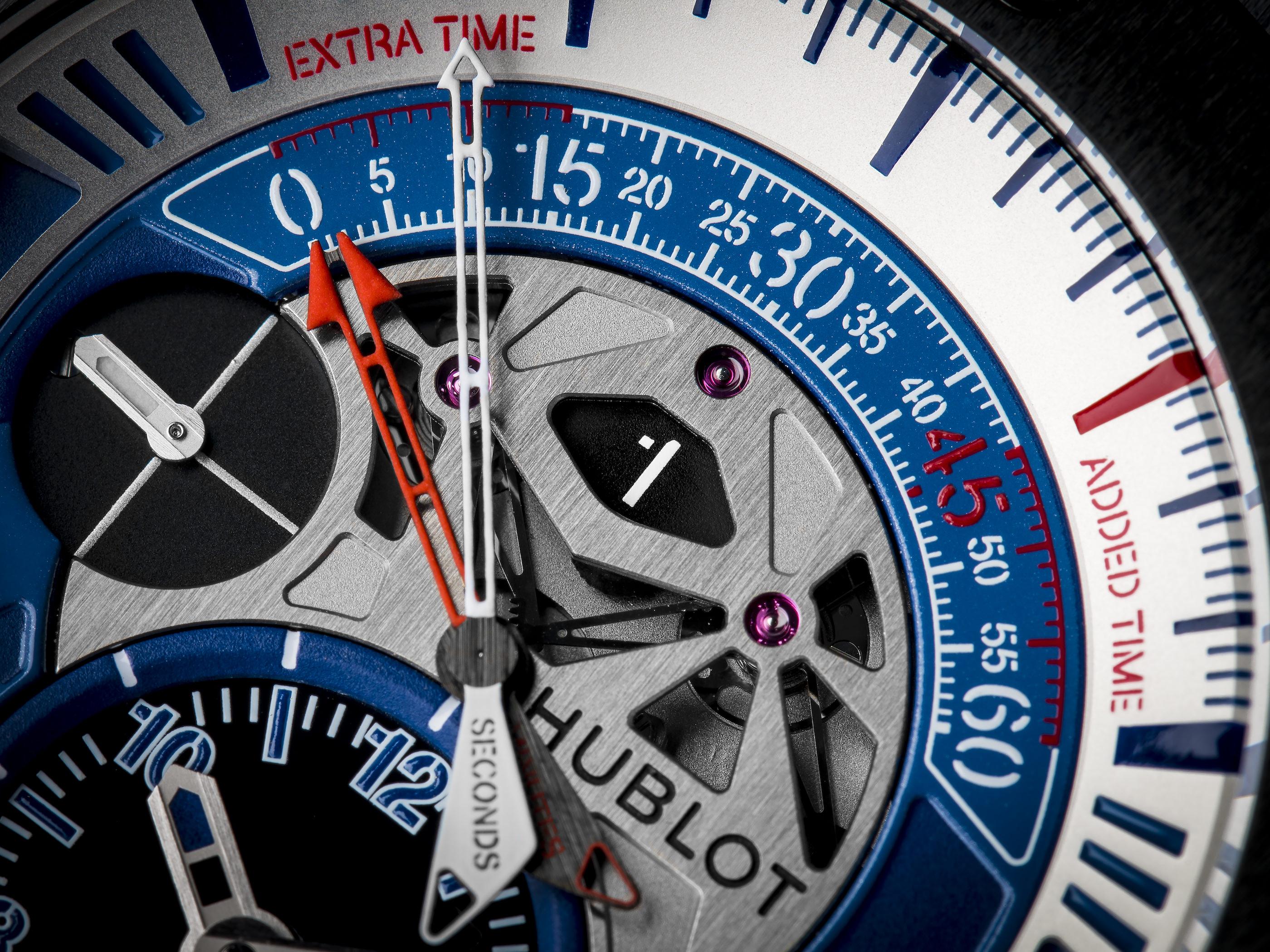 Die Hublot Big Bang Unico bi-retrograde Chrono Euro 2016