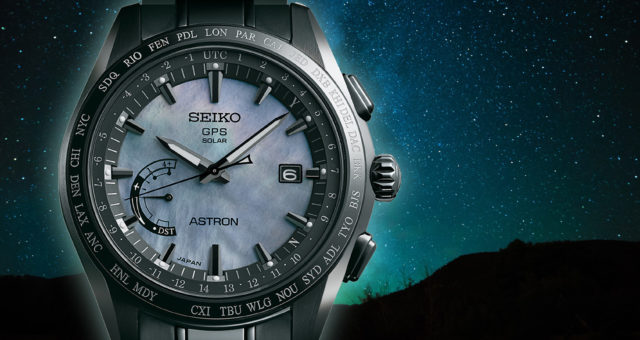 Die neue Seiko Astron GPS Solar World Time Limited Edition