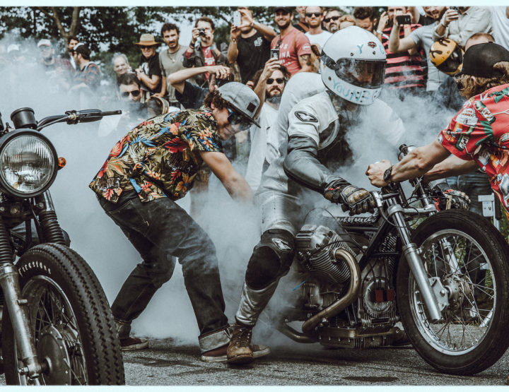 Tudor sponsert das Wheels & Waves Festival
