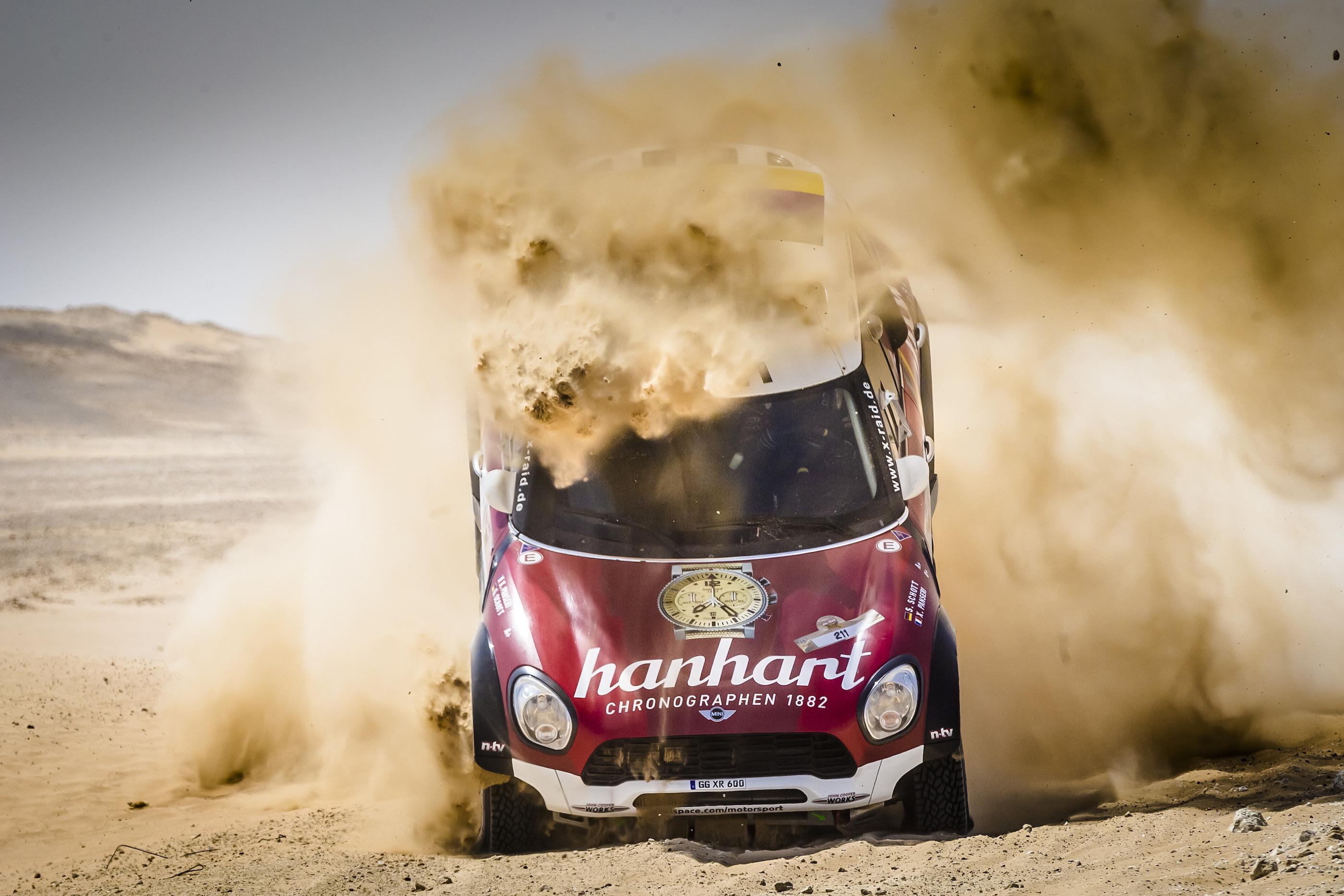 Das X-Raid Mini All4 Racing Team