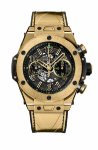 Hublot Big Bang Unico Usain Bolt, gold