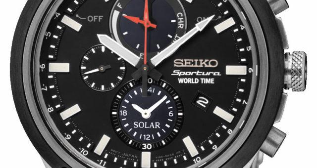 Neu: Seiko Sportura World Time Solar