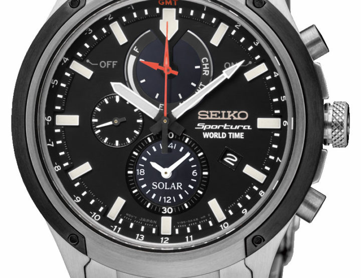 Neu: Seiko Sportura World Time Solar