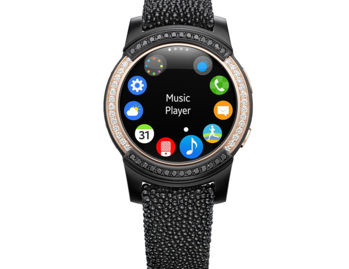 Hightech-Handwerk: Samsung Gear S2 de Grisogono