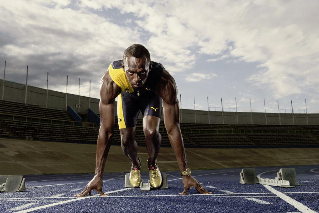 Triple-Triple-Sieger Usain Bolt