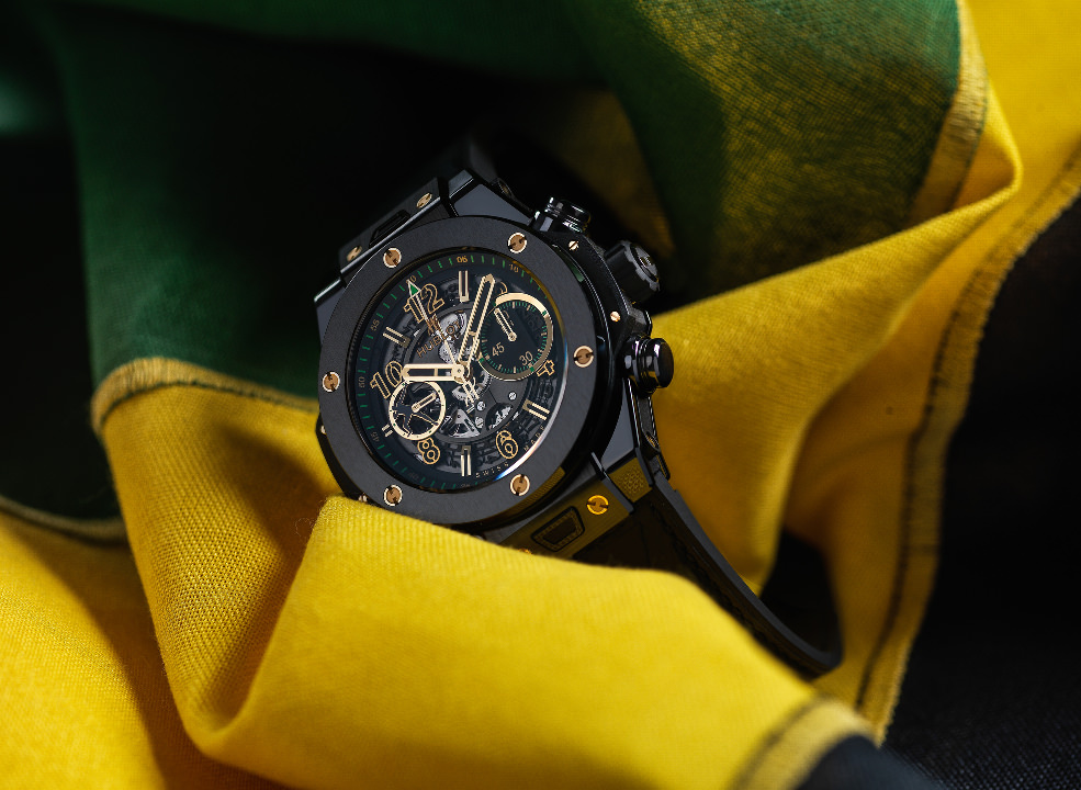 Hublot Big Bang Unico Usain Bolt, allblack
