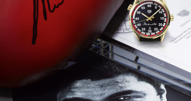Tribute to Muhammad Ali: TAG Heuer ehrt den Boxer in NY