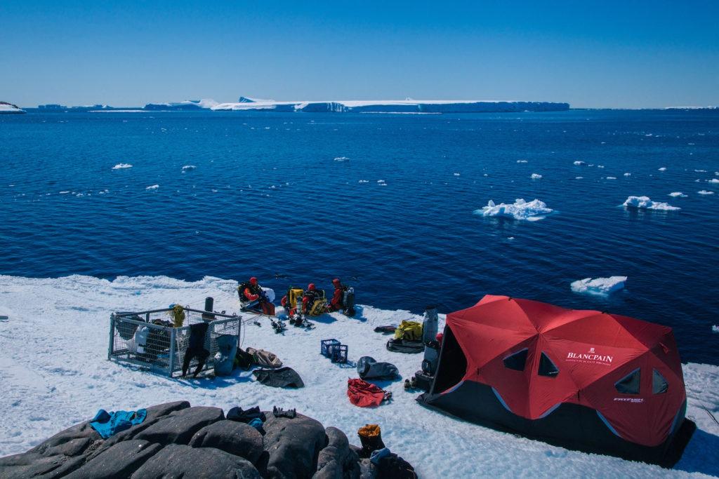 Seit einigen Jahren unterstützt Blancpain unterschiedliche Projekte, die sich für die Erforschung und dem Schutz der Weltmeere einsetzen