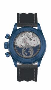 Blancpain Fifty Fathoms Bathyscaphe Flyback Chronograph Blancpain Ocean Commitment II: Der Rotor des Manufakturwerks mit der Gravur des Blancpain Ocean Commitments