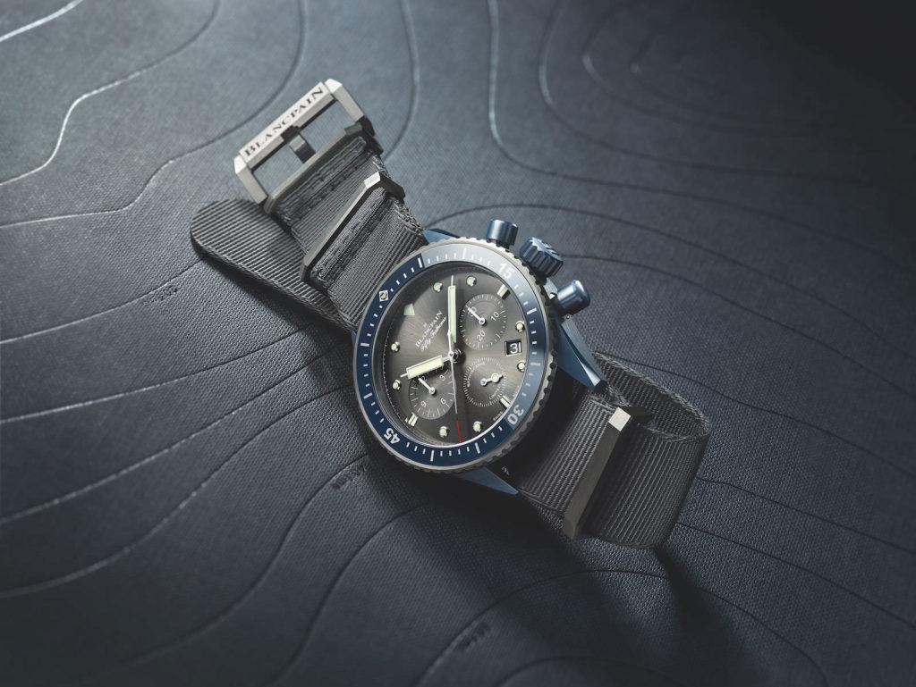 Der Flyback-Chronograph kostet 18.610 Euro, davon gehen 1.000 Euro an die wissenschaftliche Expedition Gombessa II