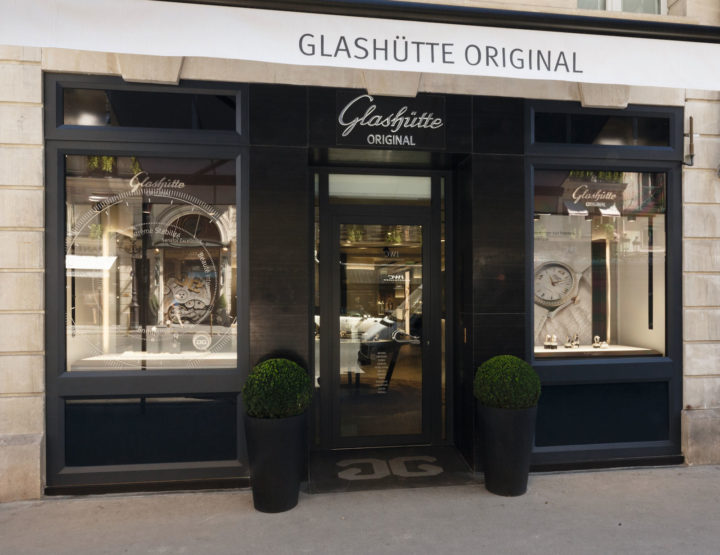 Glashütte Original: neue Boutique in Paris