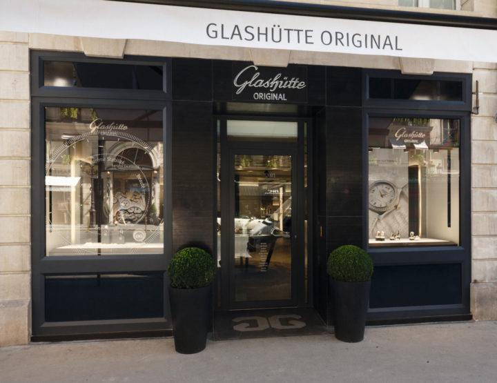 Glashütte Original: neue Boutique in Paris