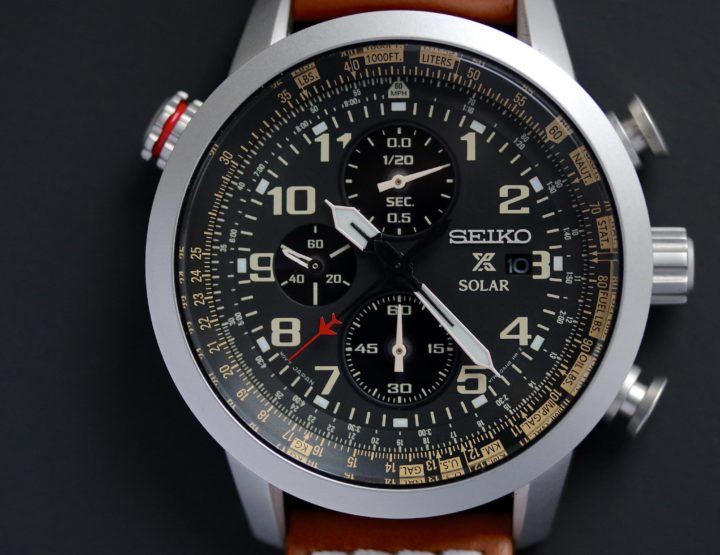 On the Wrist: Seiko Piloten-Chronograph Solar