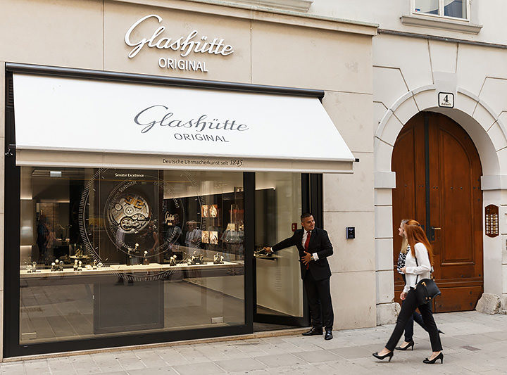 Glashütte Original eröffnet Boutique im Herzen von Wien