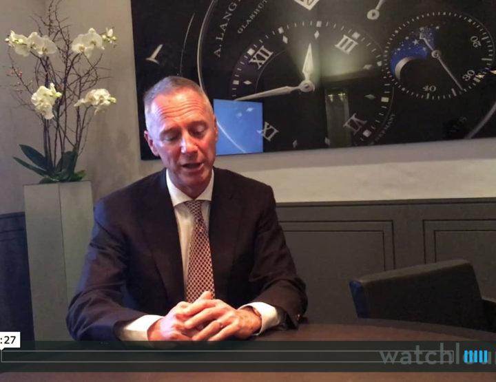 A. Lange & Söhne Interview auf dem SIHH 2017