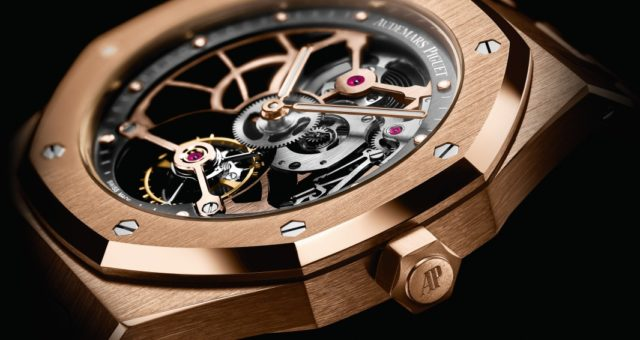 SIHH 2017: Audemars Piguet Royal Oak Tourbillon Extra-Thin Openworked