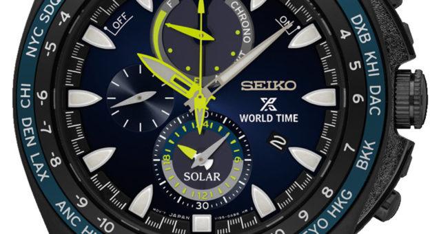 Seikos neue Prospex World Time Solar Chronographen